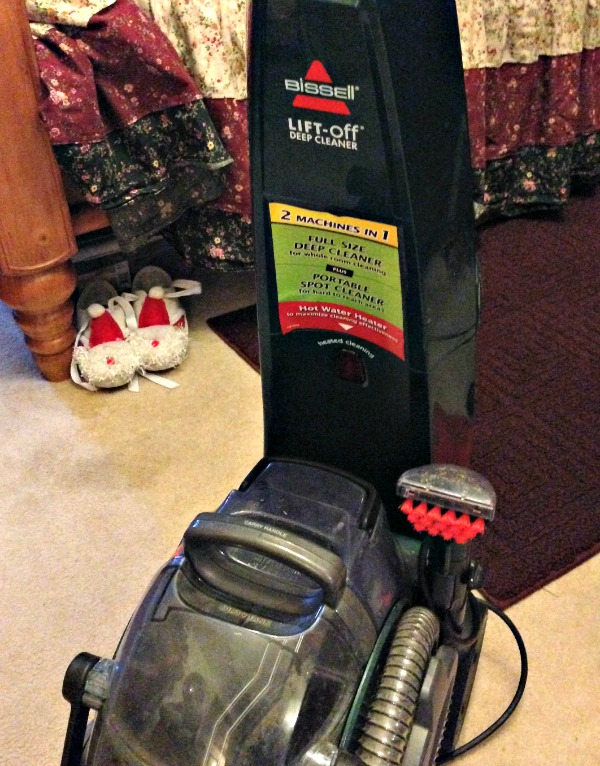 Bissell deep carpet cleaning machine