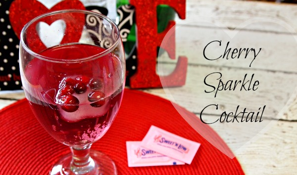 Cherry Sparkle Cocktail Recipe