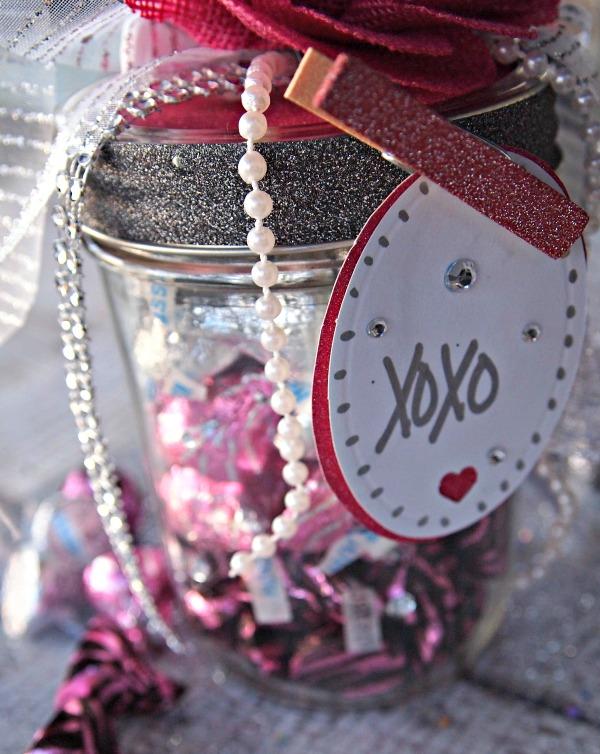 Mason Jar Craft - love jar