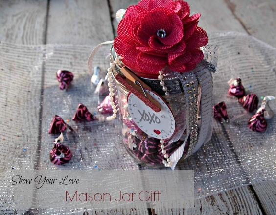 Mason Jar Valentine's Day Craft