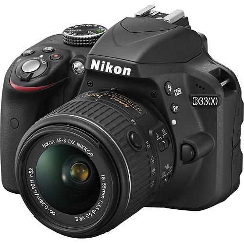 Nikon D3300 DSLR from Best Buy