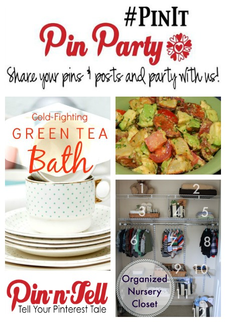 Join the #PinIt Pinterest Party!