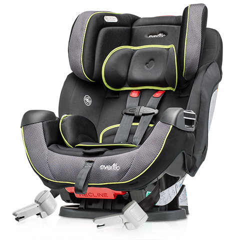 The only car seat you'll ever need, from Infant to Preschool: ProComfort Symphony DLX Car Seat