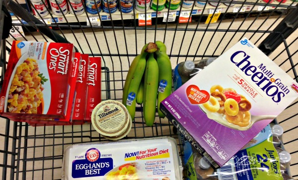Weight Watchers grocery shopping
