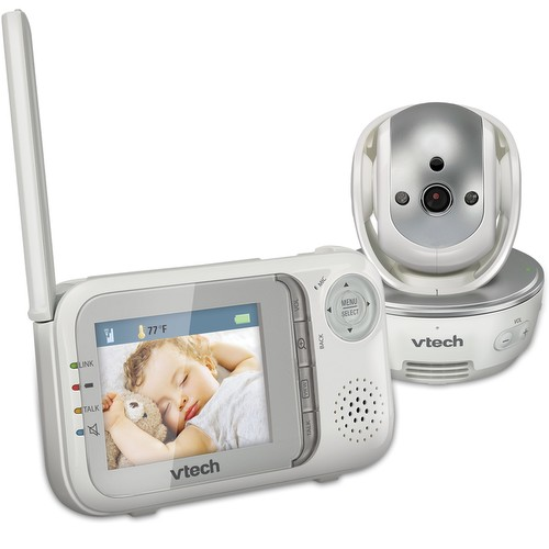 Win a Vtech Safe&Sound® Pan & Tilt Full Color Video Monitor!