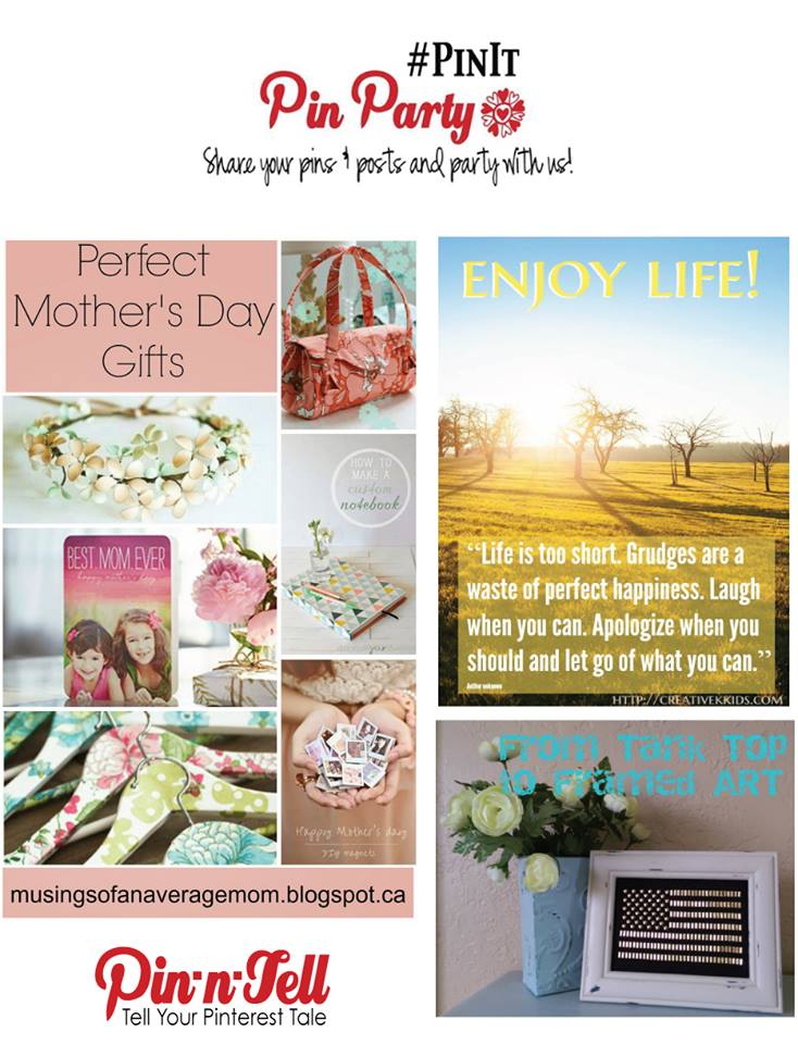 Pinterest Linky Mother's Day