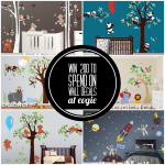 $200 Gift Card for Wall Decals at Evgie Giveaway!