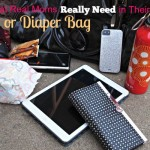 What Real Moms Need in their Diaper Bag or Purse