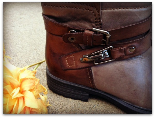 Detail on Pepperidge boot from Earth Footwear