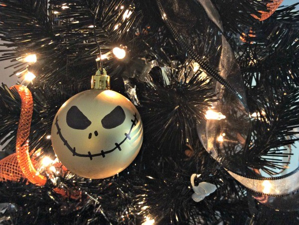 DIY Jack Skellington Ornament