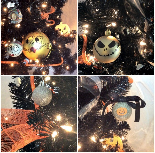 diy nightmare before christmas ornaments