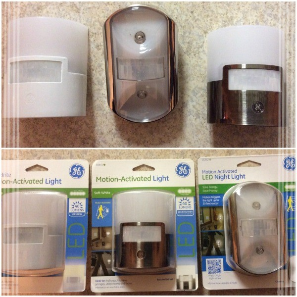 GE Motion-Activated LED Lights