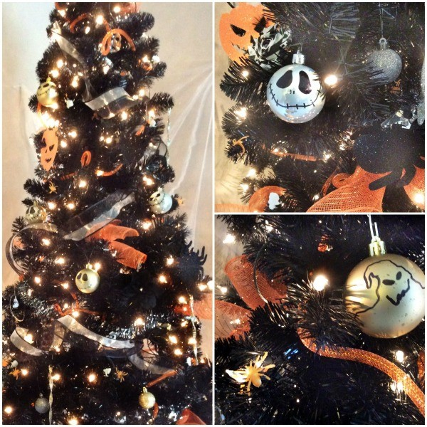 nightmare before christmas diy ornaments - Jack Skellington Christmas Tree