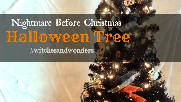 Nightmare Before Christmas Halloween Tree #witchesandwonders