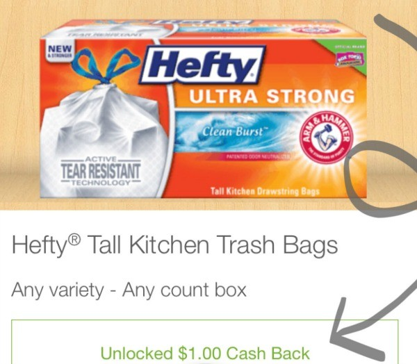 Save money on HEFTY with Ibotta
