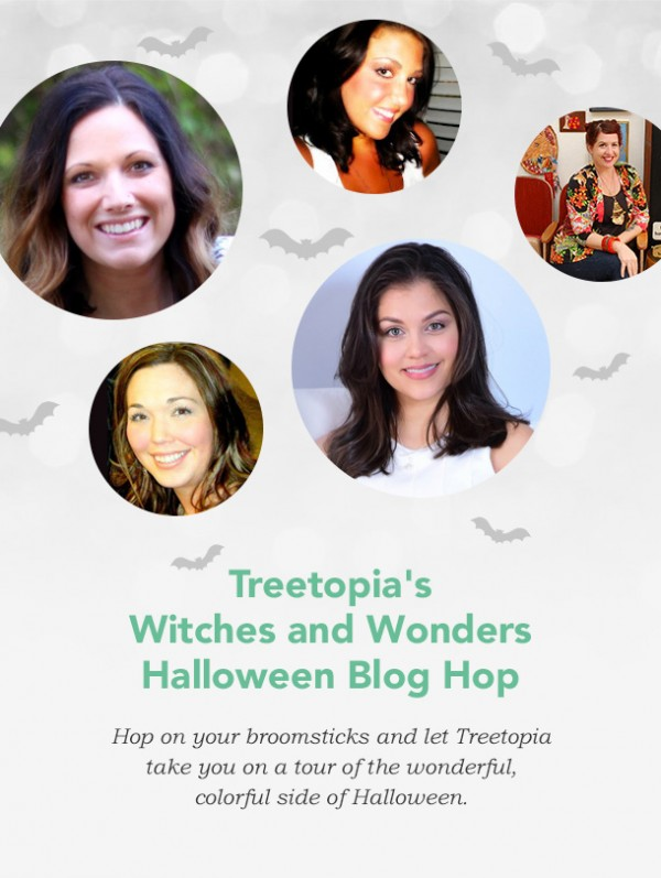 Witches and Wonders Halloween Blog Hop with Treetopia
