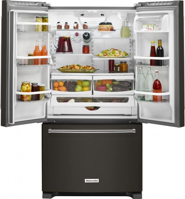 KitchenAid Black Stainless Refrigerator at Best Buy