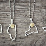 Beautiful State Necklaces - 2 for $20 Deal!