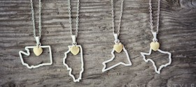 Beautiful State Necklaces – 2 for $20 Deal!