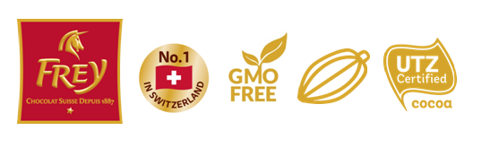 Chocolat Frey® is the #1 chocolate brand in Switzerland