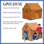 Pacific Play Clubhouse Play Tent Giveaway!