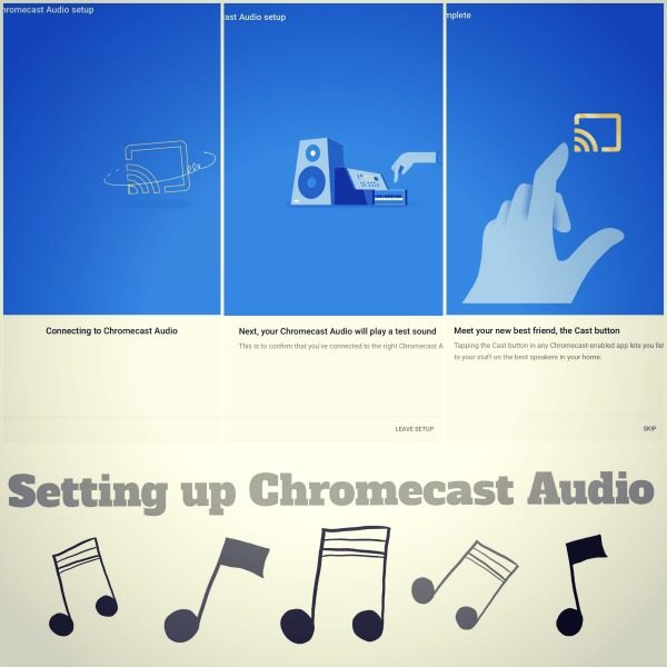 How to set up the Chromecast Audio
