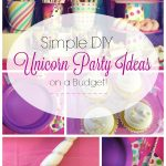Simple DIY Unicorn Party Ideas