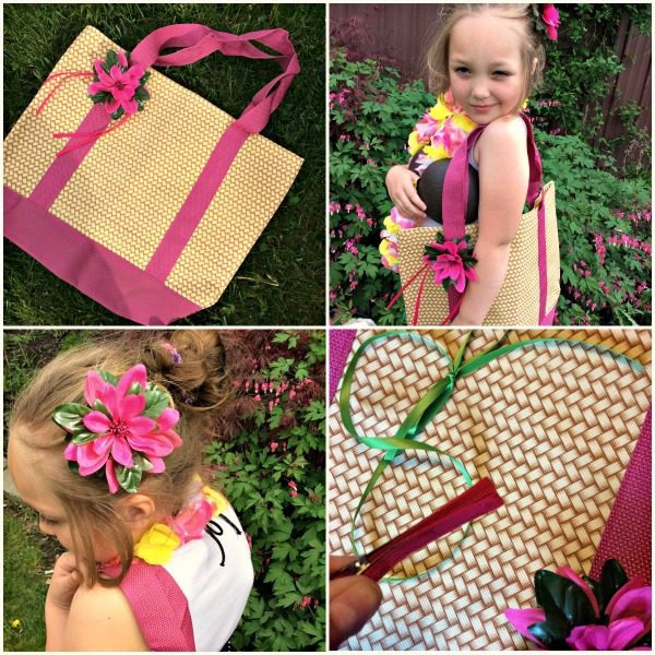 Moana inspired luau accessories for girls!