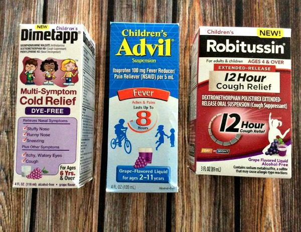 Choosing the right cold meds for kids