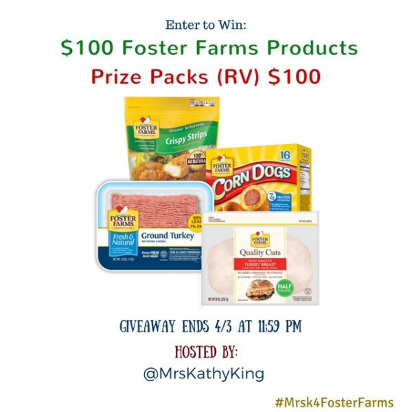 Win free Foster Farm!