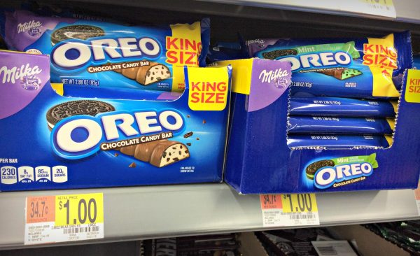 OREO, OREO candy bars, cookies and milk candy bar
