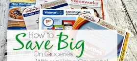 How to Save Big On Groceries - without using coupons! Sweet trick.