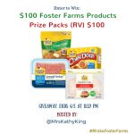 Win $100 Free Foster Farms Gift Pack Giveaway! #FFBuzzerBeaters #MrsK4FosterFarms