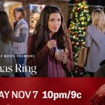 "Hallmark Movies & Mysteries Movie Premiere of ""The Christmas Ring"" on Saturday, November 7th at 10pm/9c! #MiraclesofChristmas"